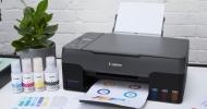 Tiskárny Canon Pixma G MegaTank s doplňováním, úspornějšími režimy a inkoustem na 12.000 stran v ceně