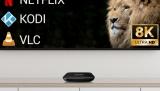 Evolveo MultiMedia Box C4 pro rozlišení Ultra HD (8K)