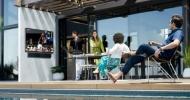 Hoďte televizor  na zahradu: Samsung The Terrace se začíná prodávat i u nás