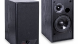 Aktivní stereo reprosoustavy AQ M25 s digitálním zesilovačem a dálkovým ovladačem