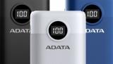 Adata P10000QCD a P20000QCD: power banky s několika systémy rychlého dobíjení, včetně USB PD 3.0