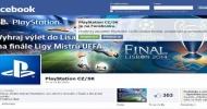 Sony PlayStation: odstartovány české facebookové stránky