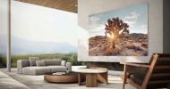 """Začal se prodávat televizor Samsung  MicroLED s úhlopříčkou 110"""" (279 cm). Na jaře má být i v Česku"""